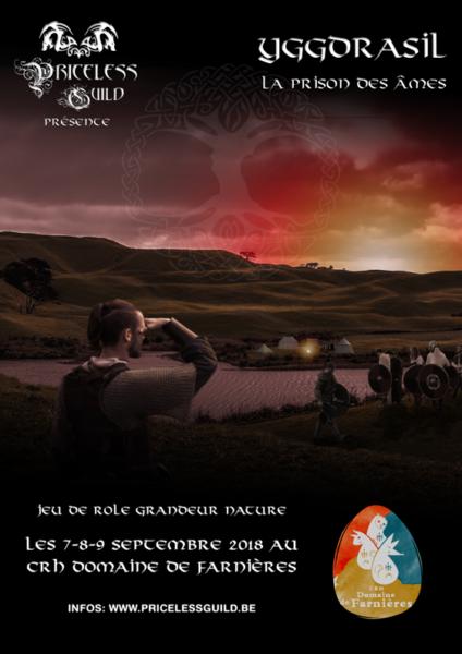 Affiche Priceless Guild - Yggdrasil 2018