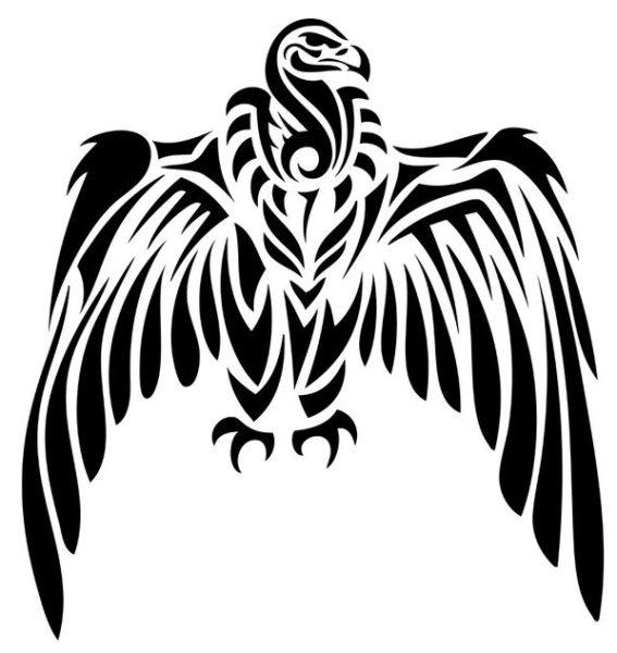 Le vautour, symbole de Brokk et Eitri