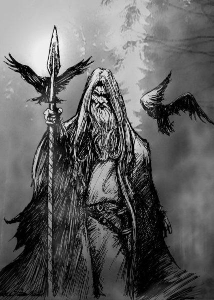 Représentation d'Odin