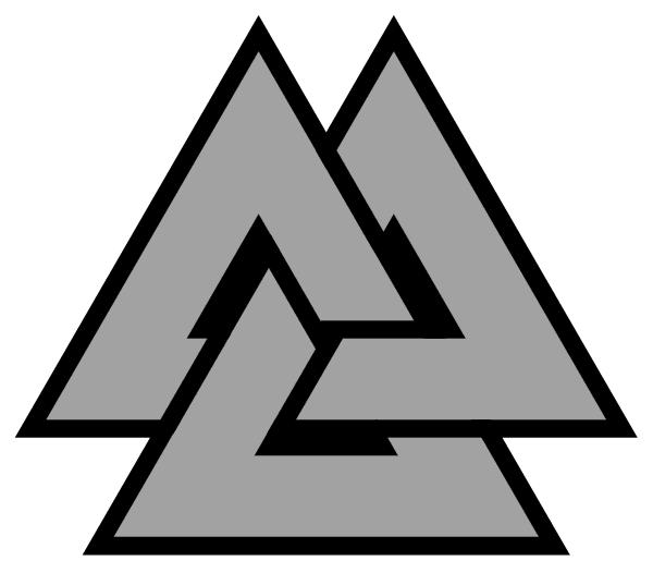 Valknut - Symbole d'Odin