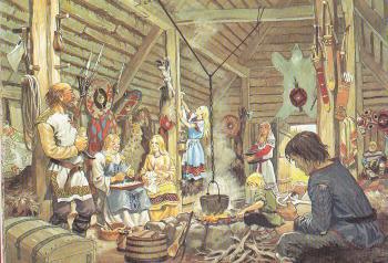 Représentation de la société Viking